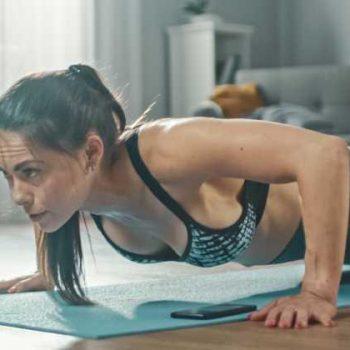 Ejercicios para estar en forma durante la cuarentena