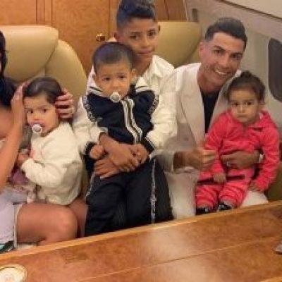 Photo of Ronaldo impide que sus hijos vean mucha tv